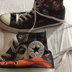 d791a9e02a2ddf 8 Joker and Harley Quinn Converse.  46  0. Size  8 · Converse ·  twistedthrifter twistedthrifter. 35. 4. Converse
